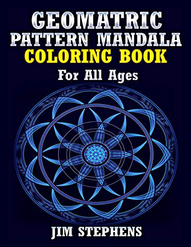 9781684110063: Geometric Pattern Mandala Coloring Book: For All Ages