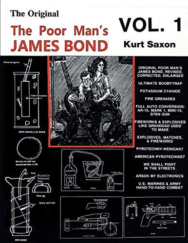 The Poor Manandapos;s James Bond (vol. 1): Saxon, Kurt