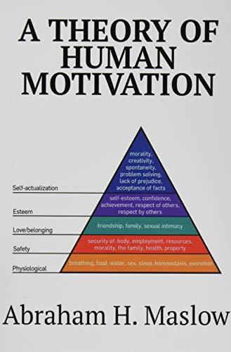 9781684113170: A Theory of Human Motivation