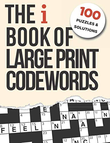 9781686305870: The i Book of Large Print Codewords