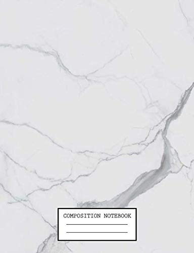 9781687640055: Composition Notebook: Cute Marble College Ruled Journal with lined Paper for Taking Notes, Writing Workbook for Students, Teachers