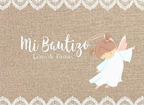 9781688088757: Mi Bautizo Libro de Firmas: Recuerdos y Consejos a los Padres Portada Rústica con Angelita
