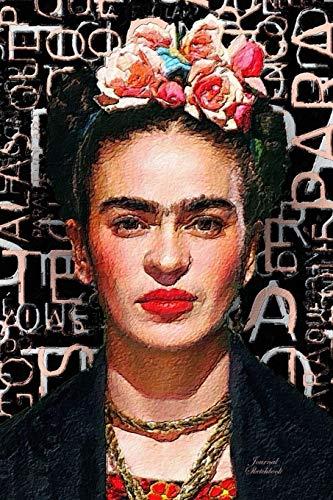 """9781688491113: Journal Sketchbook: Frida Kahlo — Journal (8"""" x 10"""" Sketchbook Notebook Journal)"""