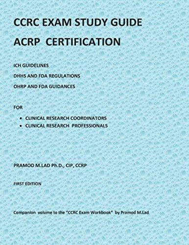 9781691922789: CCRC EXAM STUDY GUIDE: ACRP CERTIFICATION