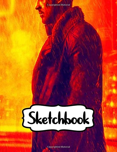 9781694056740: Sketchbook: Blade Runner Action Movies Sketchbook Soft Glossy Sketchbook with Blank Lined Paper for Taking Notes Writing Workbook for Teens and ... Kids Inexpensive Gift For Boys and Girls