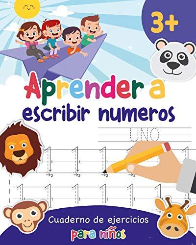 9781695493827: Aprender a escribir números: Aprender a escribir los numeros para niños - Libro infantiles para la escuela primaria - Juego educativo matemàticas - Cuentos infantiles