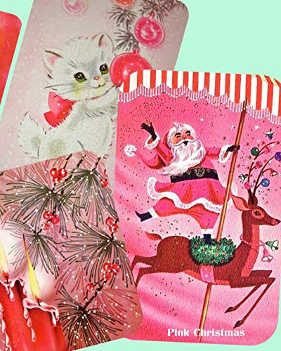 Pink Christmas: Vintage Notebook for your happy: Memories, Vintage Paper