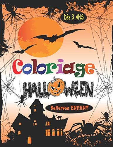 9781697884876: Coloriage Halloween: Livre de Coloriage pour Enfant avec une Collection de 45 Merveilleux Dessins d'Halloween ; Coloriages pour Enfants dès 3 ans - ... Magique Halloween (Coloriage Magique Enfant)