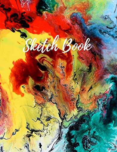 """9781698580456: Sketch Book: 8.5"""" X 11"""" (21.59 x 27.94 cm), 120 Large Blank Page Sketchbook for Drawing, Painting, Sketching and Creative Doodling"""