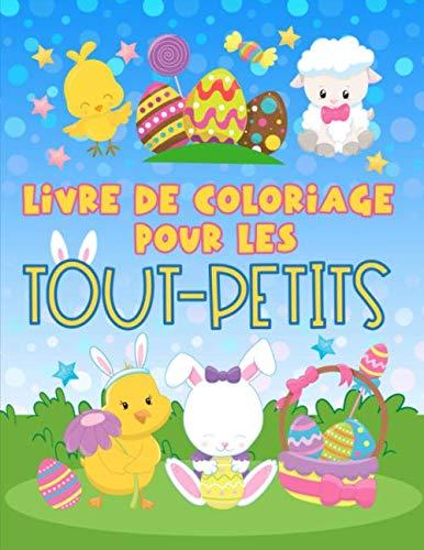 9781700812797: Livre de coloriage pour les tout-petits: 30 illustrations mignonnes sur le thème de Pâques pour les enfants âgés de 1 à 3 ans.