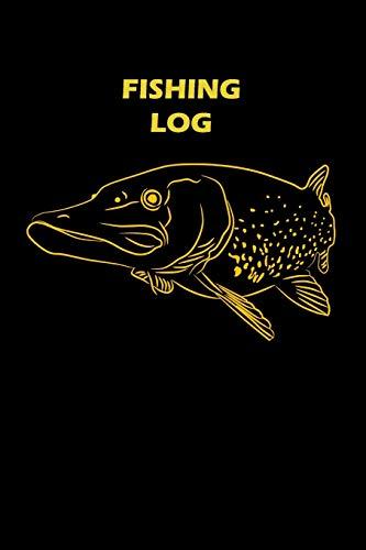 Fishing Log: Pike Illustration (Paperback): Matal Design