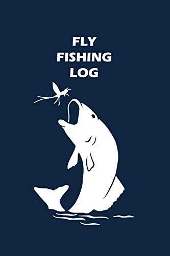 Fly Fishing Log: Unique Fish Design: Design, Matal