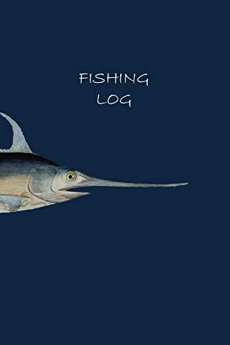 Fishing Log: Swordfish Design (Paperback): Matal Design