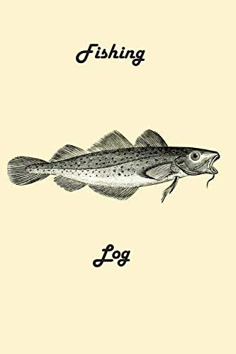 Fishing Log: Classic Cod Design: Design, Matal