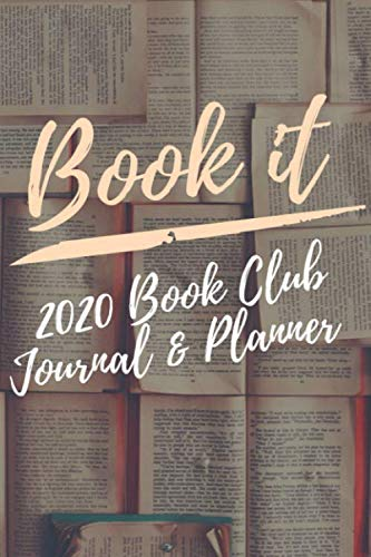 9781706810841: Book It: A Book Club Planner & Journal