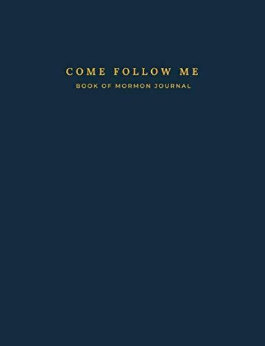 9781707439133: Come Follow Me Book of Mormon Journal