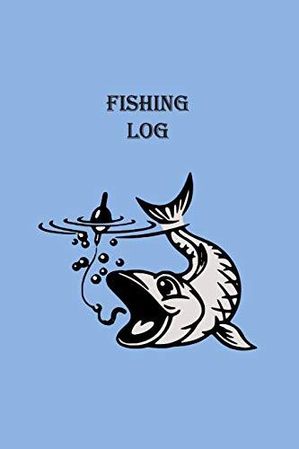 Fishing Log: Cartoon Fish & Bait (Paperback): Matal Design