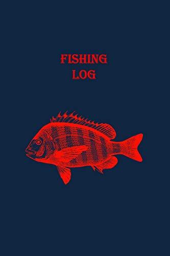 Fishing Log: Red Snapper Theme (Paperback): Matal Design