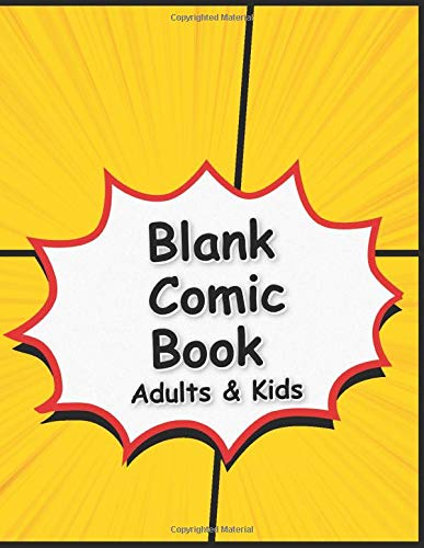 9781707848720: Blank Comic Book Adults & Kids: Draw your own Comics ● 120 Pages Multi Templates for Comics Strip ● Fun for All Making Comic or Manga