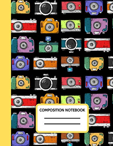 """9781710834444: Composition Notebook: 100 Pages College Ruled Photographer Journal, Composition Book, Diary To Write In, Gifts For Photographers And Photography Lovers (8.5"""" X 11"""" A4 Size)"""