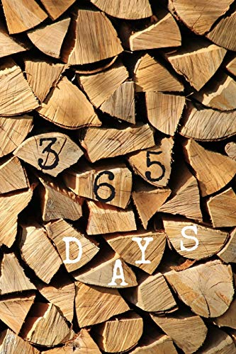 9781711049724: 365 Days Journal Diary: One Page Per Day, Blank Pages Notebook, Daily Diary | Firewood