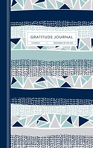 9781713251675: Gratitude Journal: A Day & Night Reflection Diary to Increase Happiness & Productivity with Daily Affirmations & Thought-Provoking Quotes | Geometric Stripes