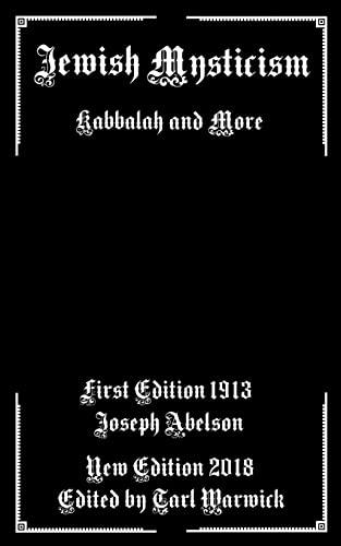 9781717079480: Jewish Mysticism: Kabbalah and More