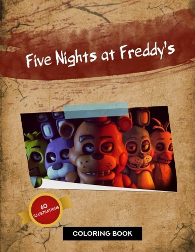 Five Nights at Freddy's Coloring Book: 60 Exclusive Illustrations: Blue Rainbow