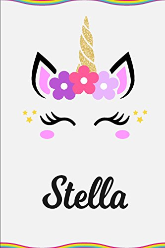 Stella: Personalized Unicorn Journal Gift - 6: Nora Journaling Gifts