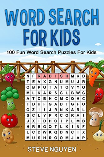9781719363402: Word Search For Kids: 100 fun word search puzzles for kids