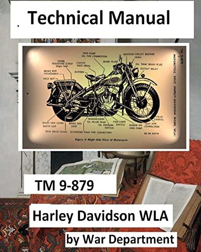 Technical Manual TM 9-879 Harley Davidson WLA.: War Department