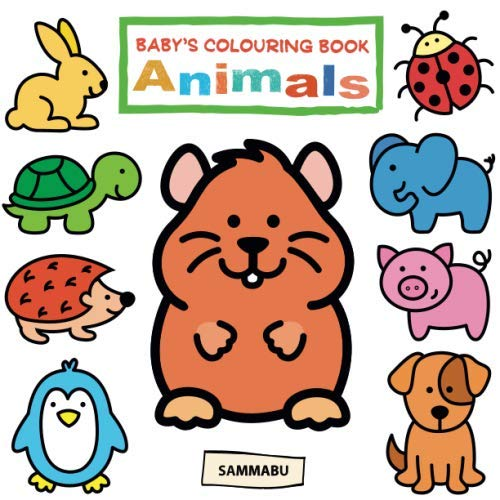 9781720344353: Baby's Colouring Book Animals