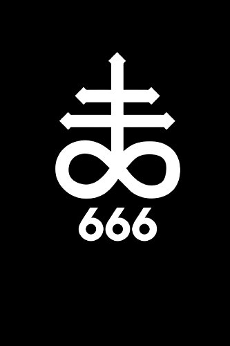 666: The Cross of Leviathan - Satanic: Black Magick Journals