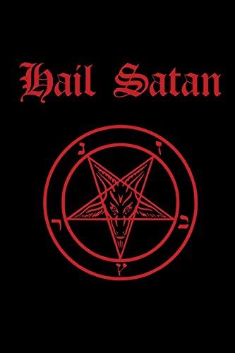 satanic pentagram journal and notebook