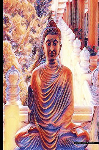 Journal Diary Notebook: Psychedelic Art, Buddha Statue: P2g Publishing