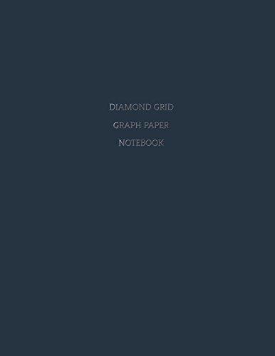 9781721273614: Diamond Grid Graph Paper Notebook: Diagonally Aligned 1 cm x 1 cm (.39 inch) Diamonds on 8.5 x 11 Inch Diamond Grid Paper (22 x 28 cm) for Diamond ... Art Design Diamond Game Map Grid Game Mat