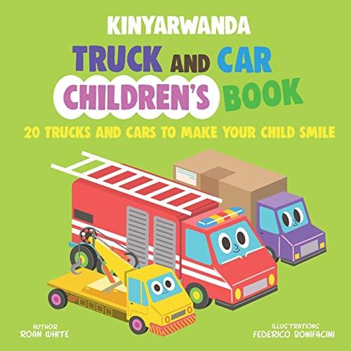 Kinyarwanda Truck and Car Children's Book: 20: White, Roan