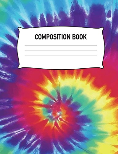 Composition Book: Composition Notebook Wide Ruled Tie: Aguilar Publications