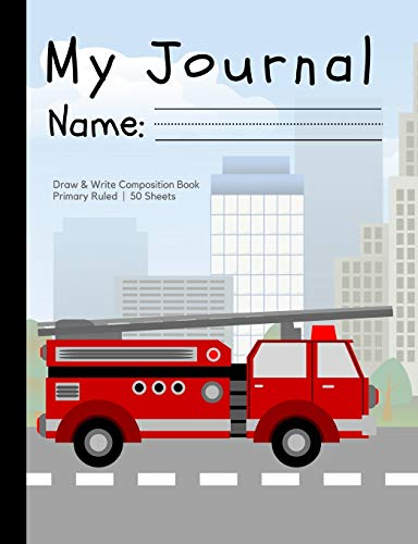 """9781723370366: My Journal: A draw-and-write primary composition notebook for children in preschool and grades K-2; softcover, 7.5"""" x 9.75"""" (pages not perforated) (Delightful Draw-and-Write Journals for Kids)"""