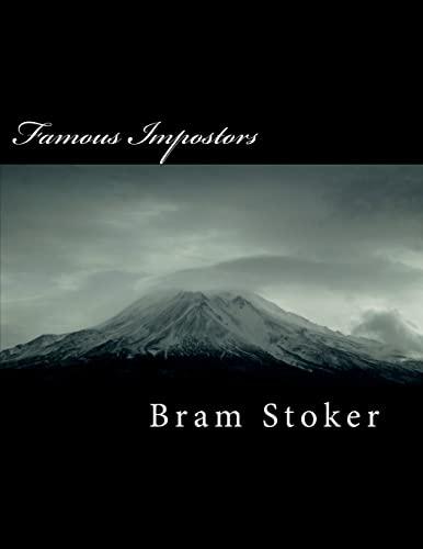 Famous Impostors (Paperback): Bram Stoker