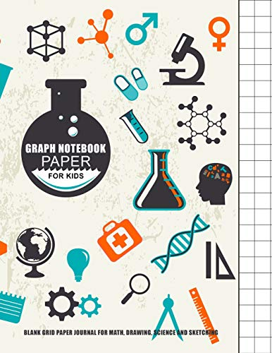 Graph Notebook Paper For Kids : Blank: Journals, Blank Books