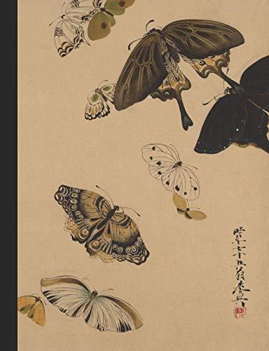 butterflies Printed Hard Cover Notebooks By Matador Books