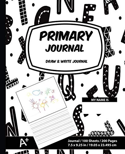 Primary Journal: ABC Style, Primary Composition Draw: Primary Journal