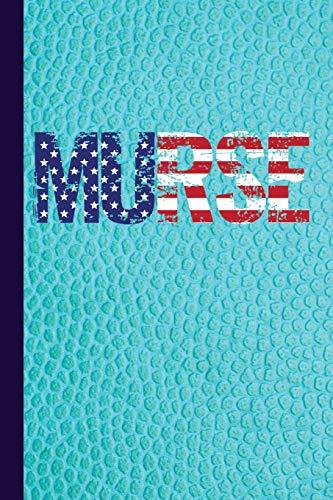 Murse: Male Nurse Journal with American Flag: Publishing, Scott Jay