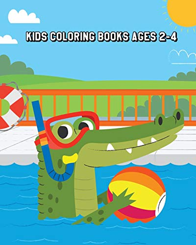 9781726159906: Kids Coloring Books Ages 2-4: Super Fun Coloring Books for Kids (Shark, Dolphin, Cute Fish, Turtle, Seahorse and More!)