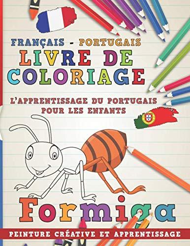 Livre de coloriage: Français - Portugais I: nerdMediaFR