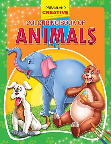 9781730166662: Animals (Creative Colouring Books)