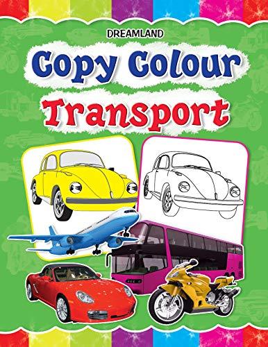 9781730174926: Copy Colour: Transport (Copy Colour Books)