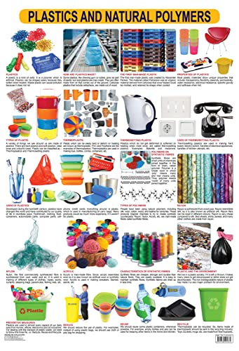 9781730195761: Plastics & Natural Polymers