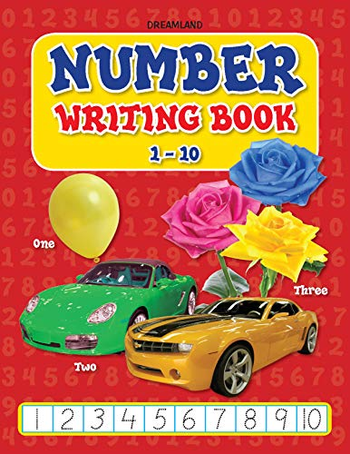 9781730198861: Number Writing Book (1-10)
